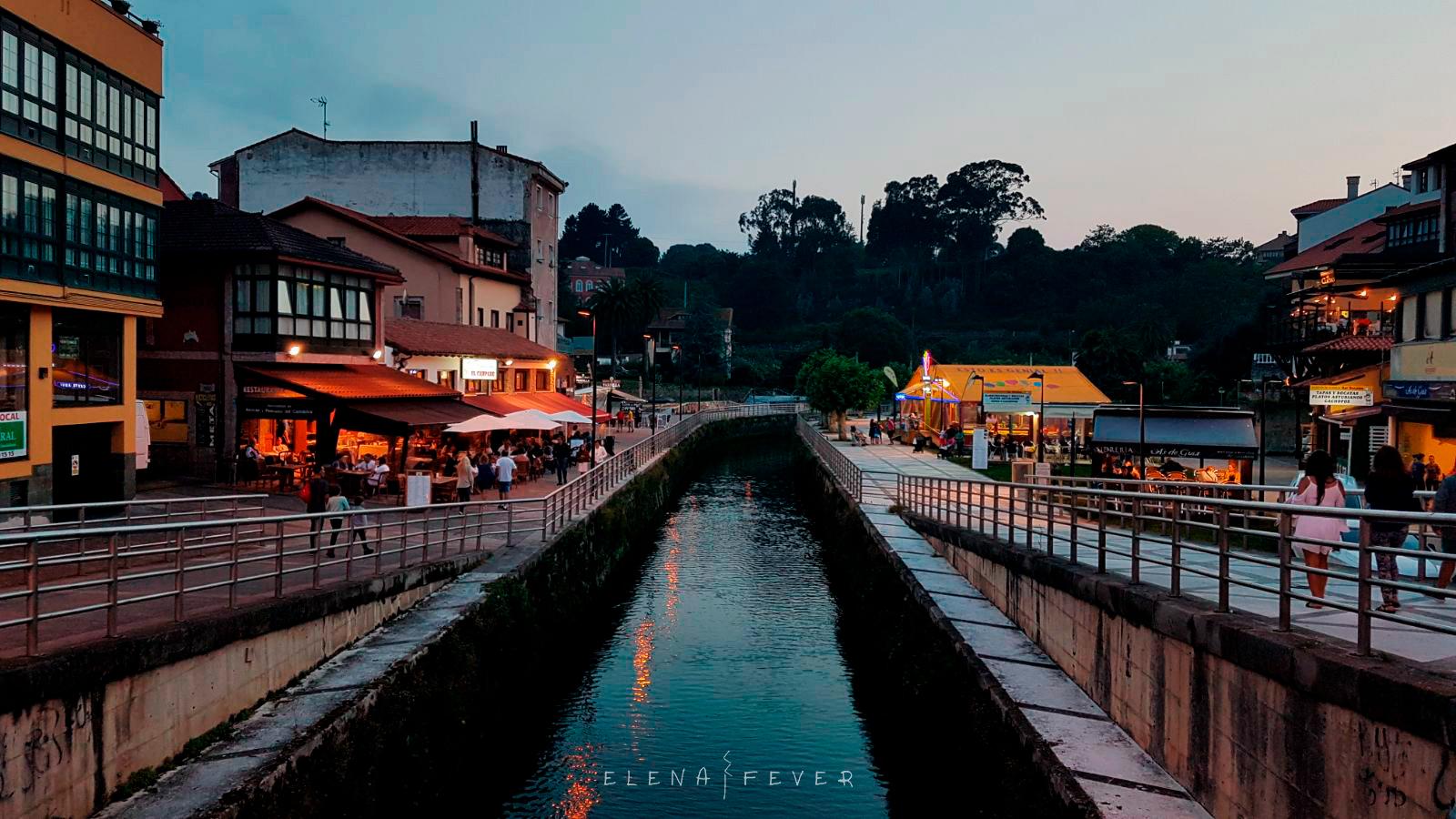 Foto Llanes noche elena fever